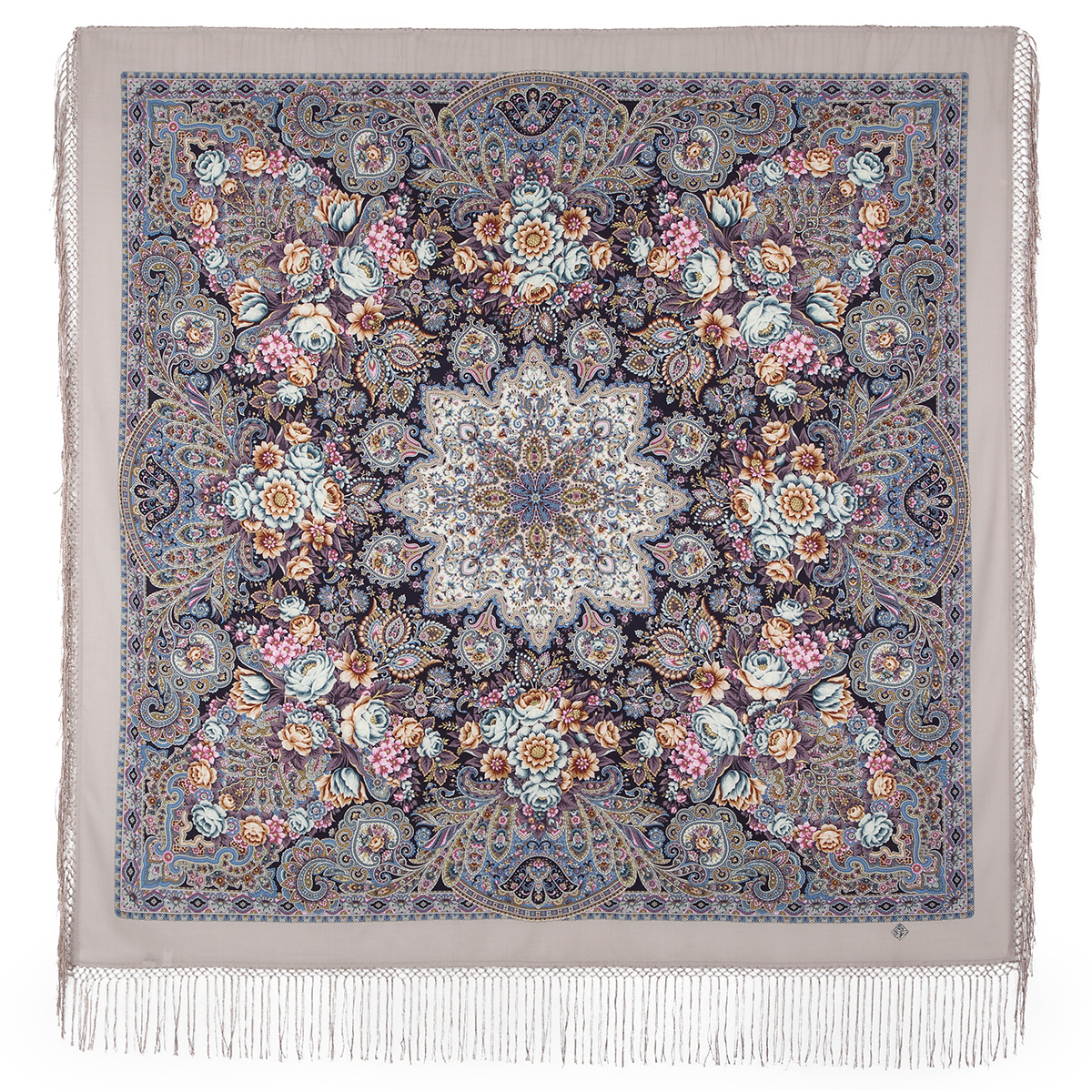 "Russian shawl ""Benefit 1769-2"""