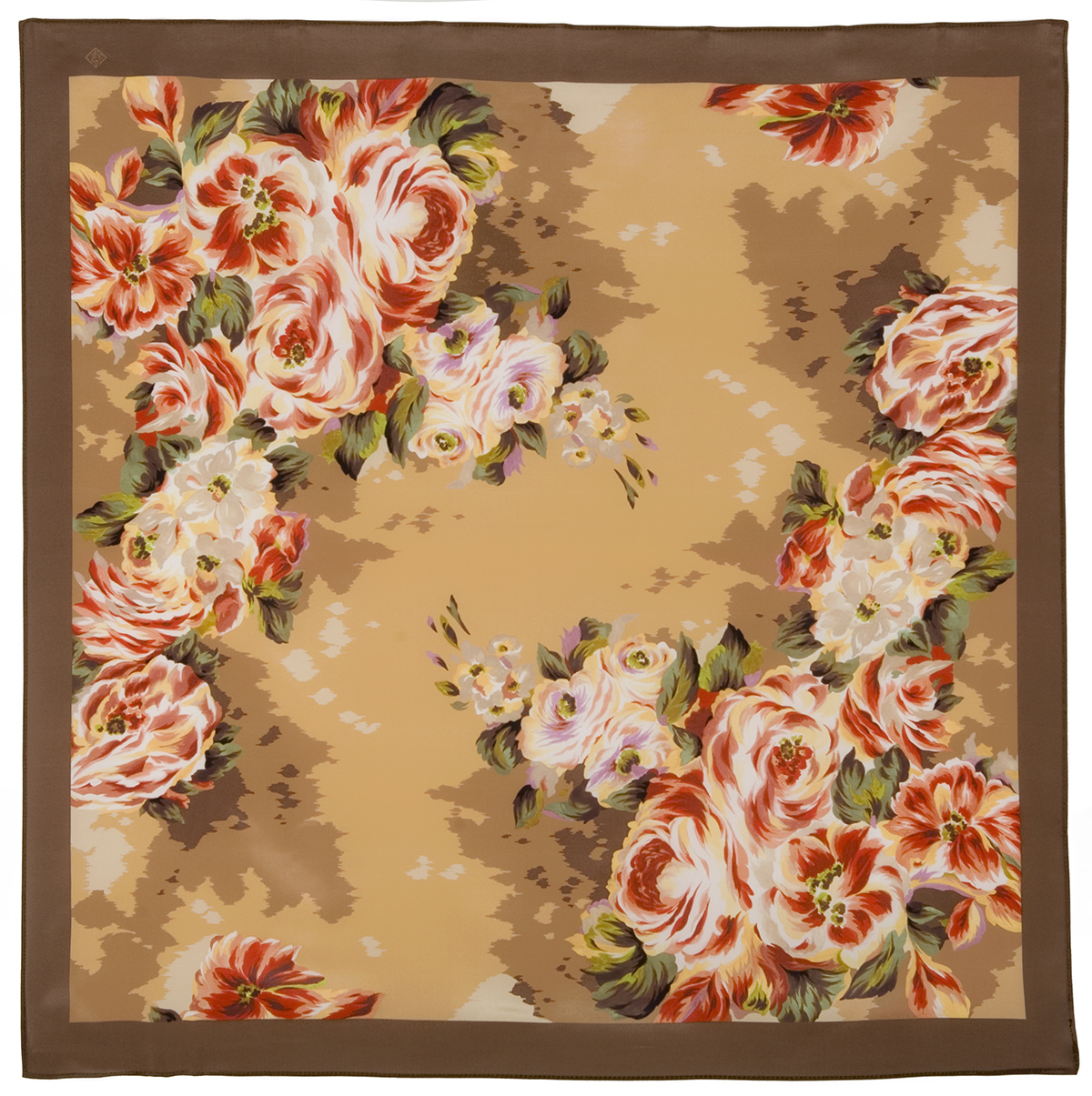 """Russian scarf """"Intrigue and Love 1495-16"""""""