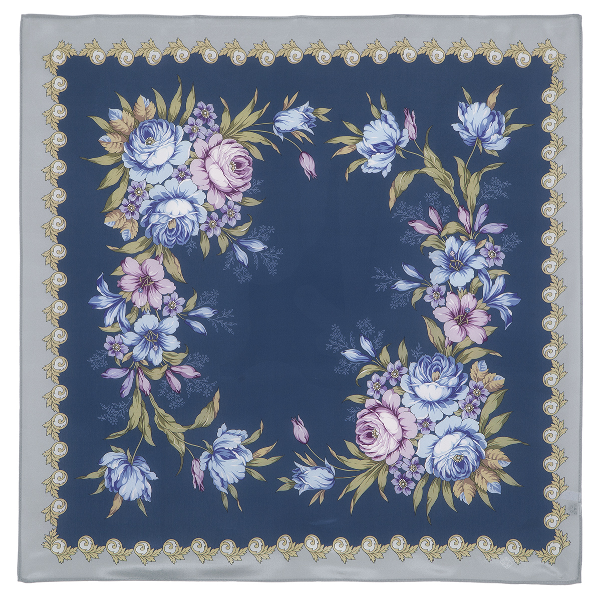 "Russian scarf ""Gentle echoes 1601-14"""