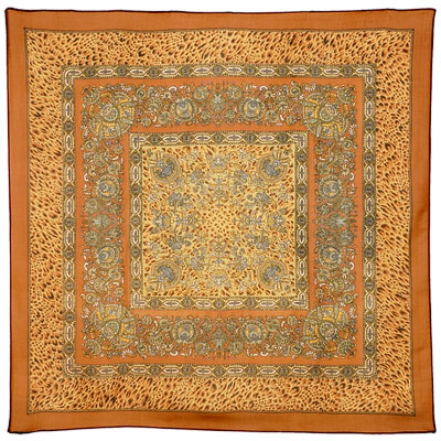 "Russian scarf ""Indian Summer 1206-16"""