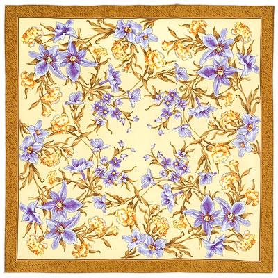 """Russian scarf """"Scent of Spring 899-16"""""""