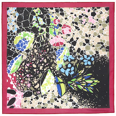 "Russian scarf ""Park Guell 1417-5"""
