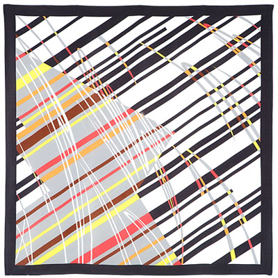 "Russian scarf ""Motion 1365-18"""