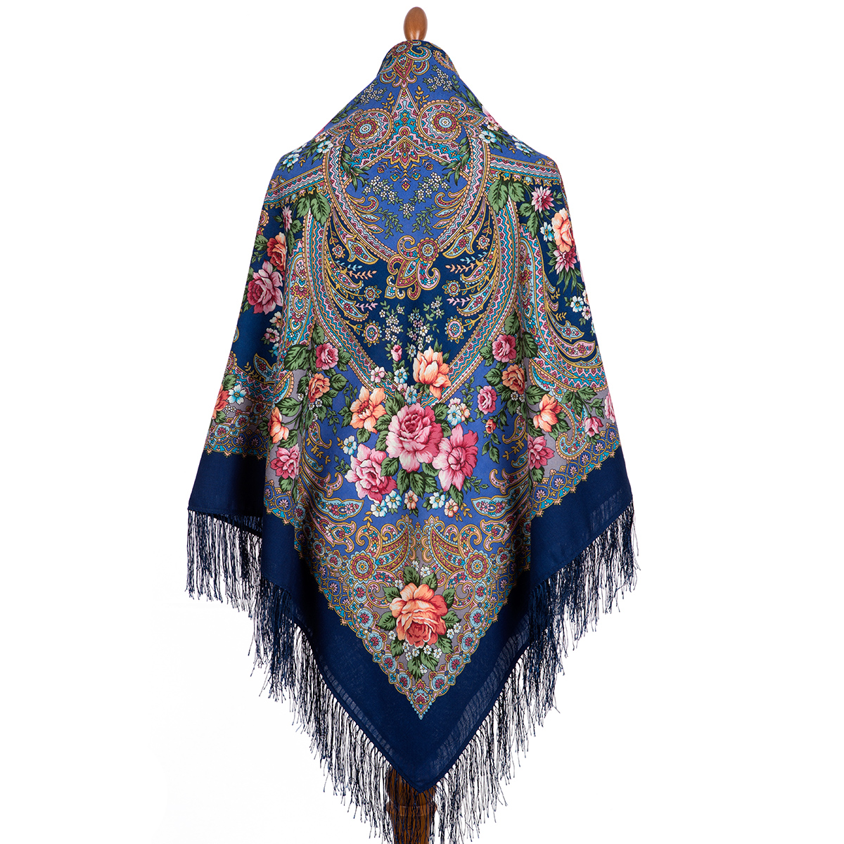 "Russian shawl ""Music of the sea 1755-14"""