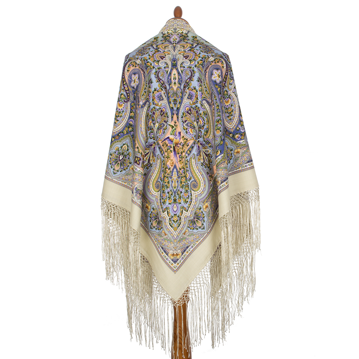 """Russian shawl """"The only 1757-2"""""""