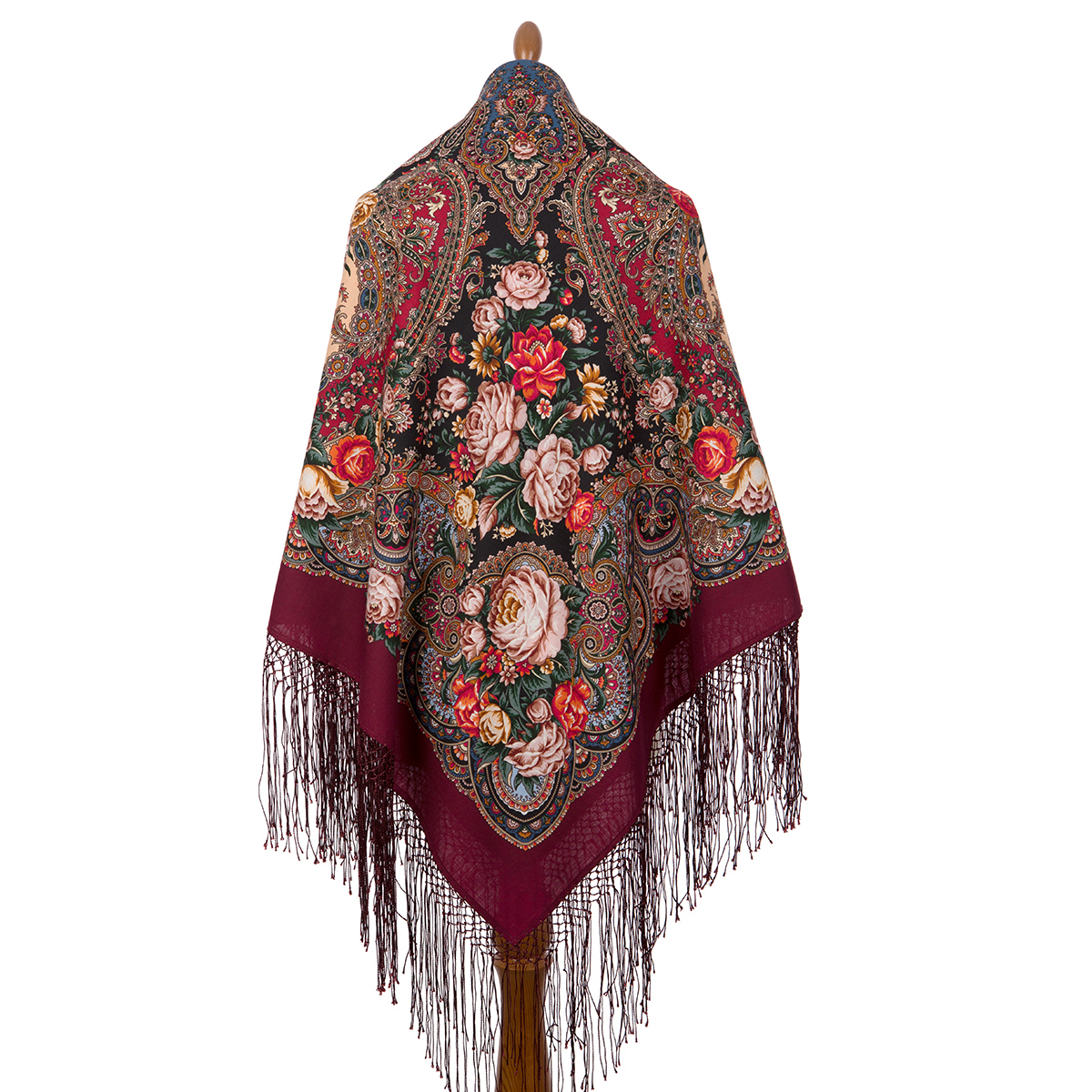 "Russian shawl ""Earthly love 1760-6"""
