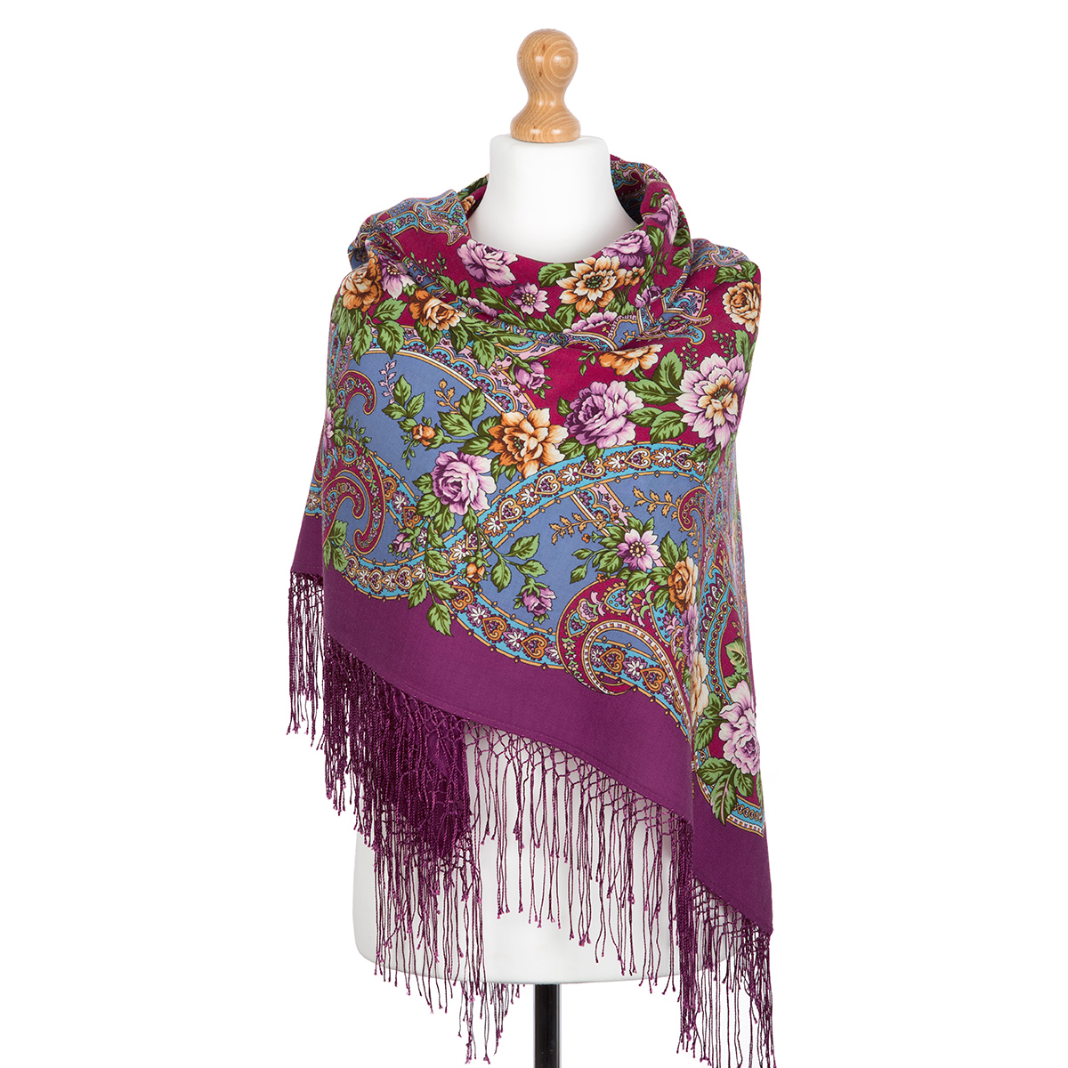"""Russian shawl """"The River of Love 1773-15"""""""
