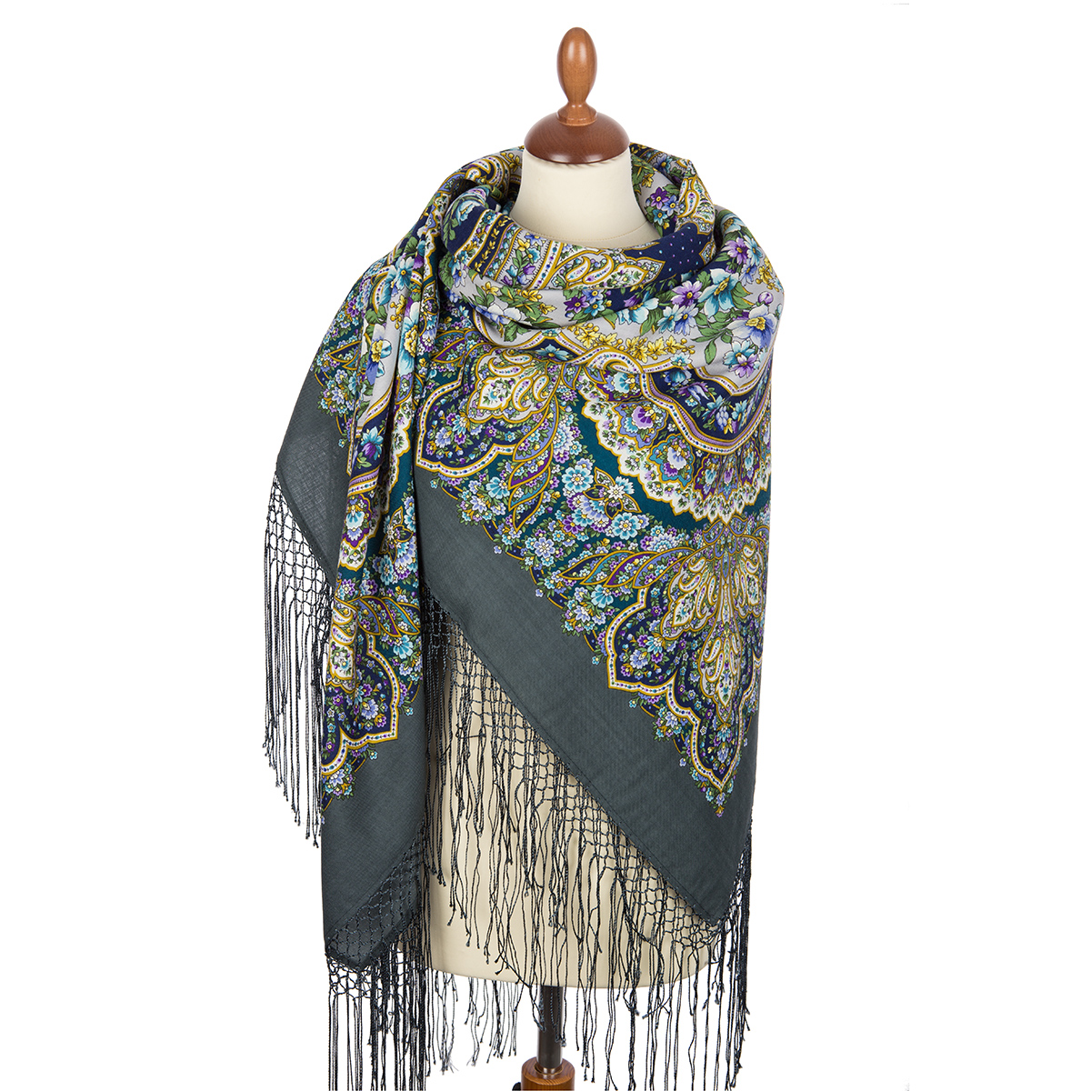 "Russian shawl ""Idyll 1788-12"""