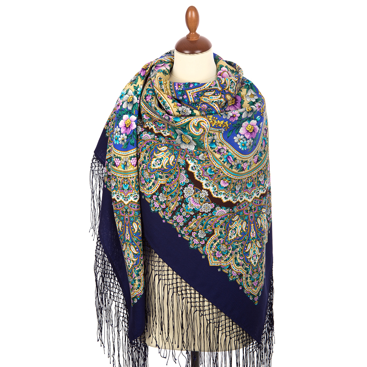 "Russian shawl ""Idyll 1788-14"""