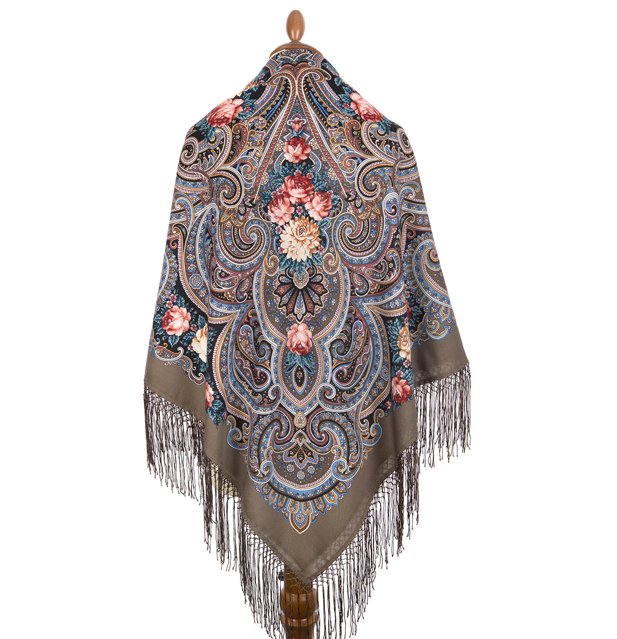 "Russian shawl ""Fulfillment of desires 1799-16"""