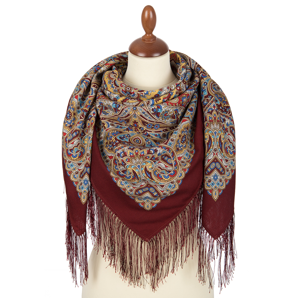 "Russian shawl ""Christmas Gingerbread 1805-4"""
