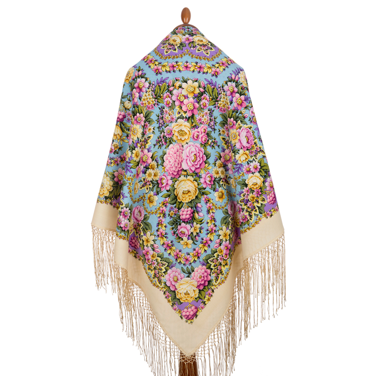 "Russian shawl ""Pavlovoposadsky 1816-2"""