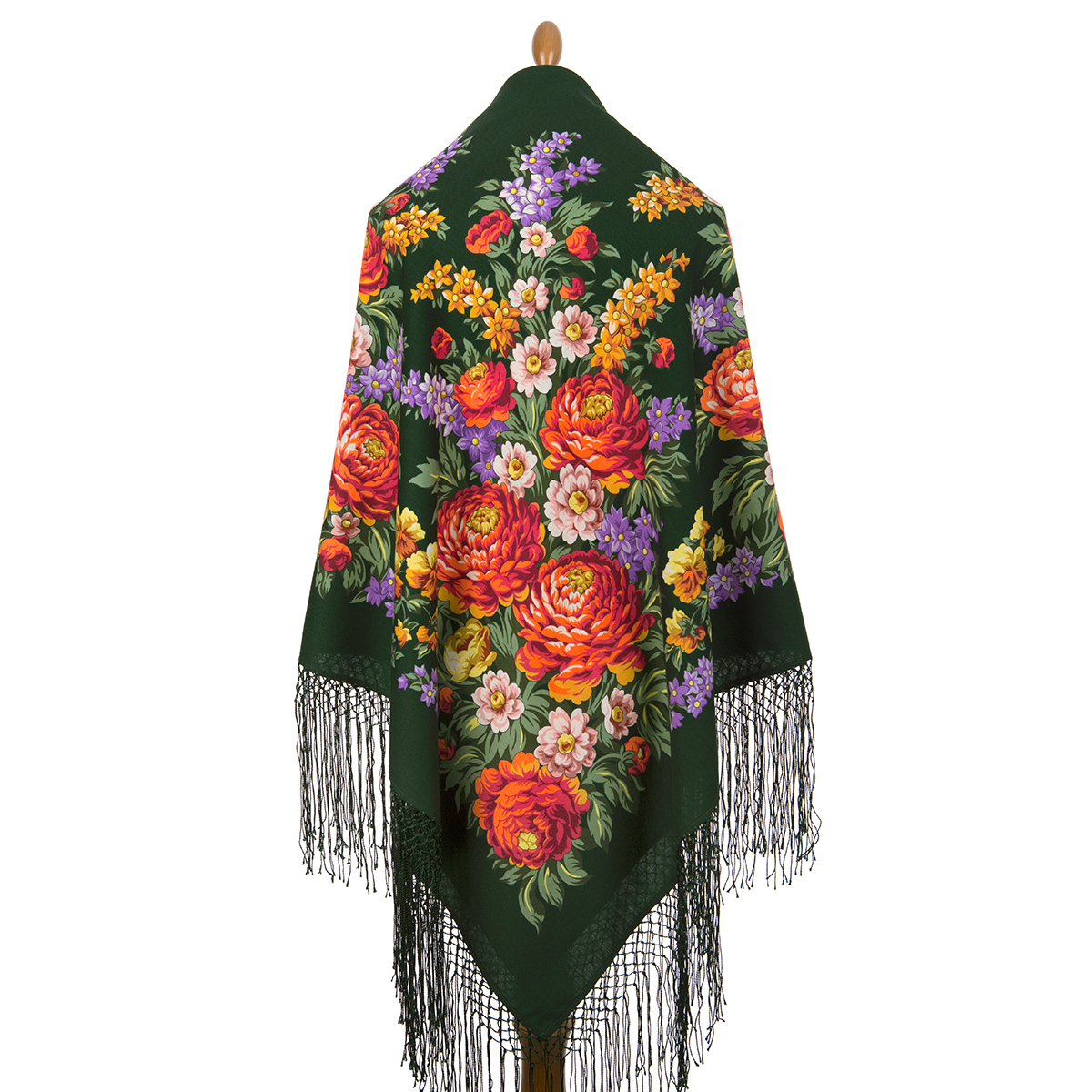 "Russian shawl ""Victory Day 235-10"""