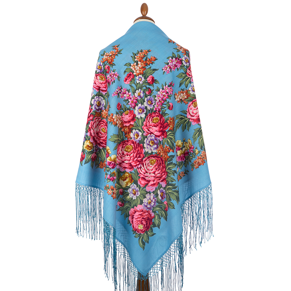 "Russian shawl ""Victory Day 235-13"""