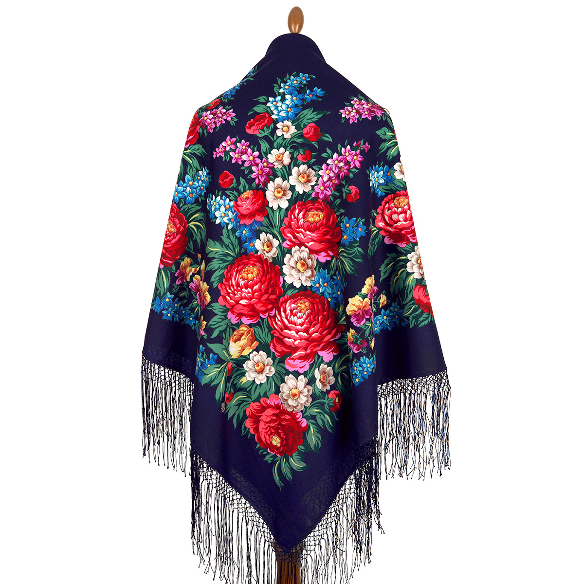 "Russian shawl ""Victory Day 235-14"""