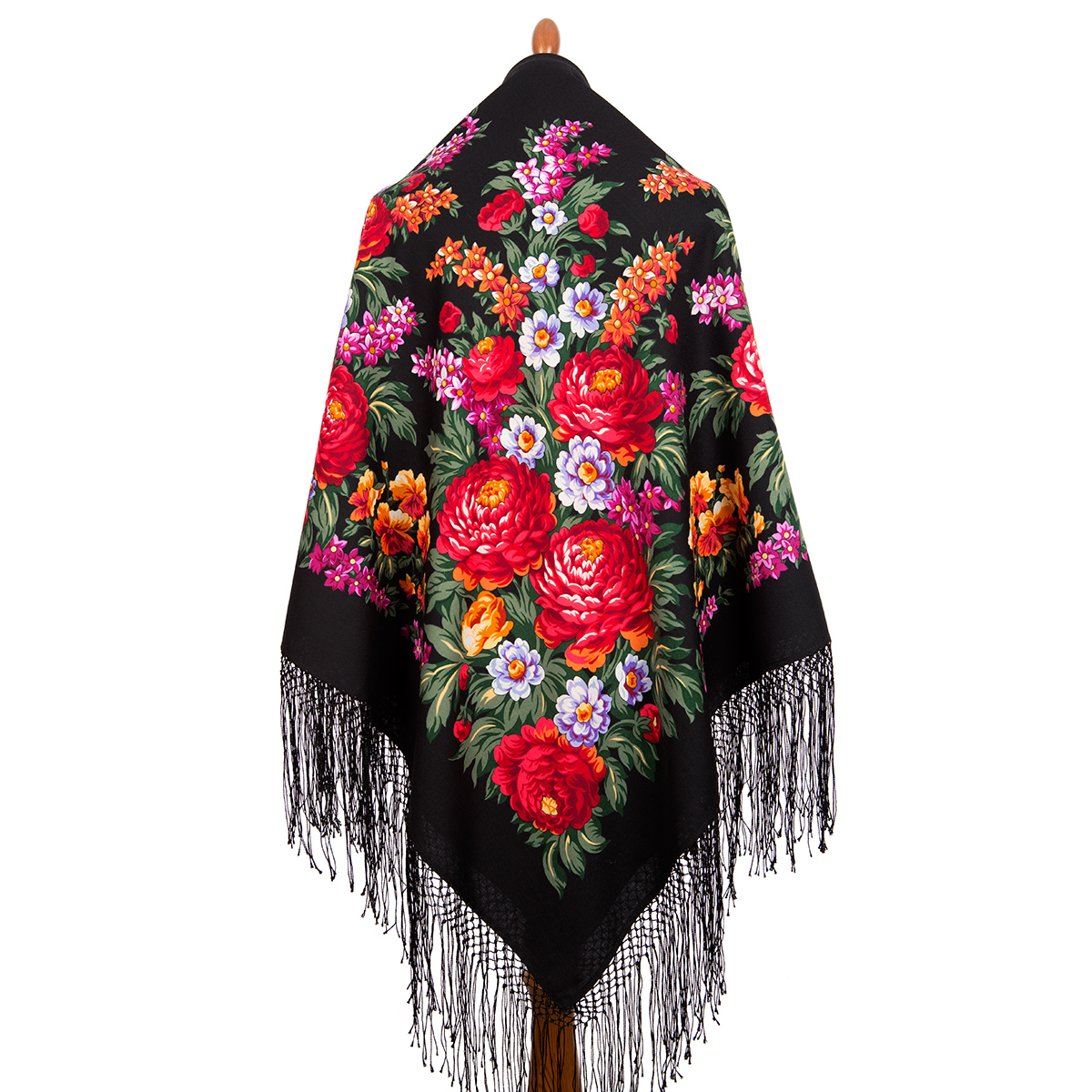 "Russian shawl ""Victory Day 235-19"""