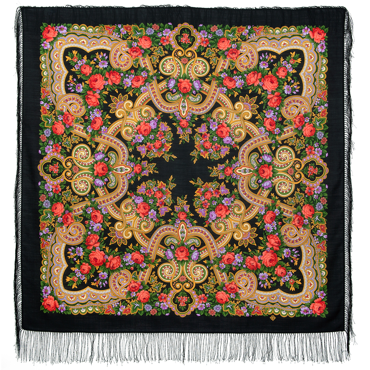 "Russian shawl ""Serenade 11-23"""