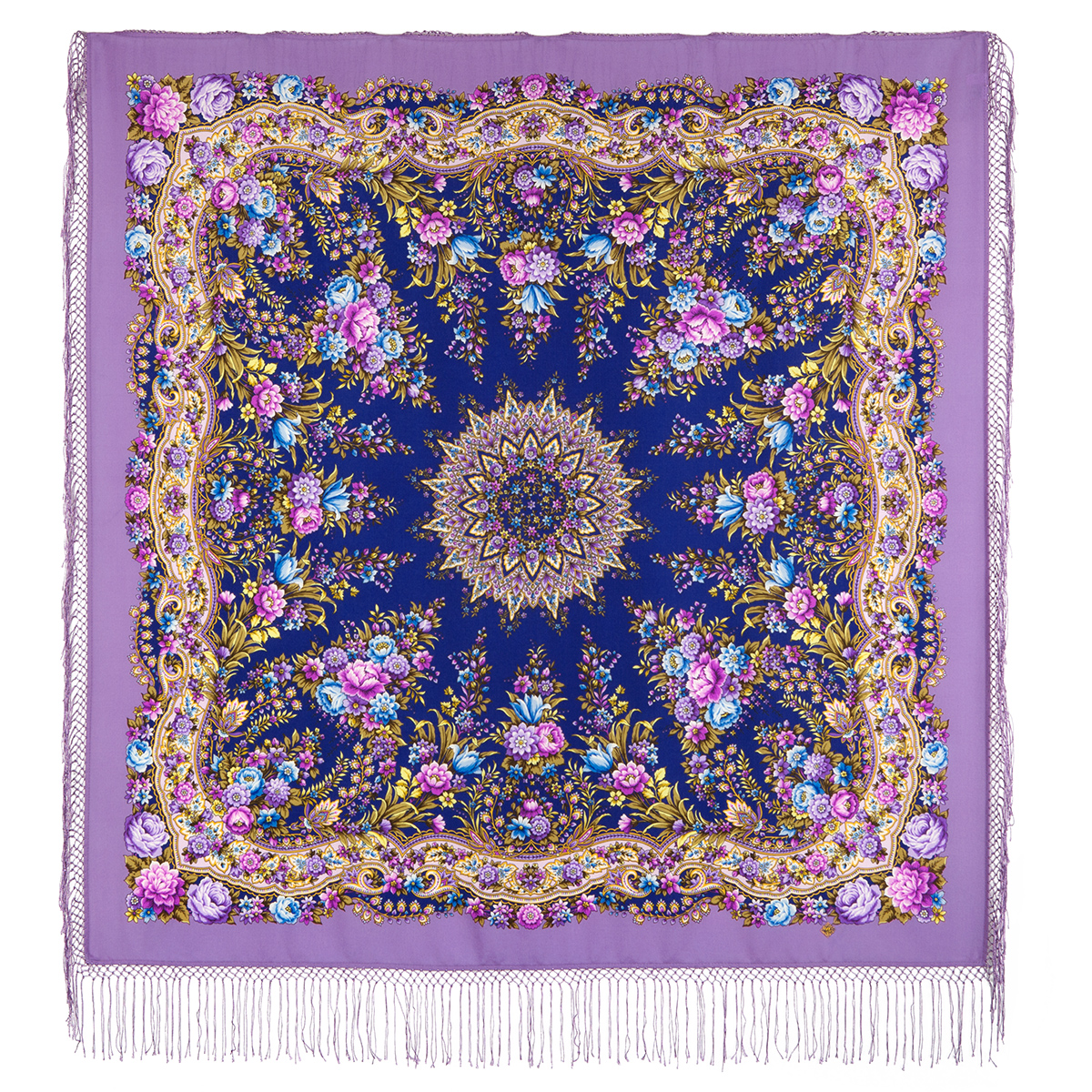 "Russian shawl ""Fire Festival 1739-15"""