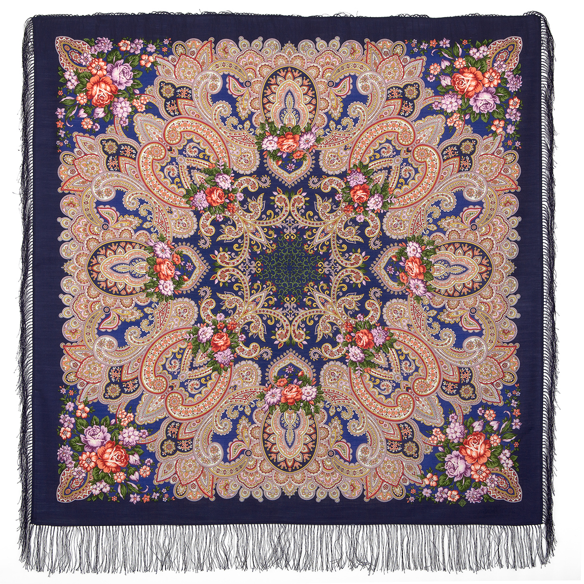 "Russian shawl ""A beautiful moment 1802-14"""