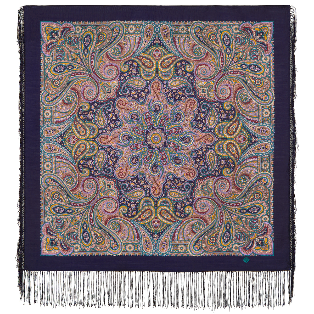 "Russian shawl ""City woman 1836-15"""