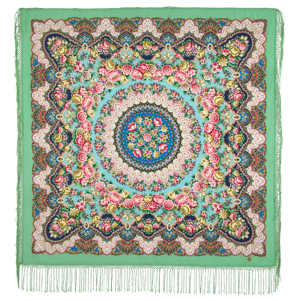 "Russian shawl ""Rain 1779-9"""