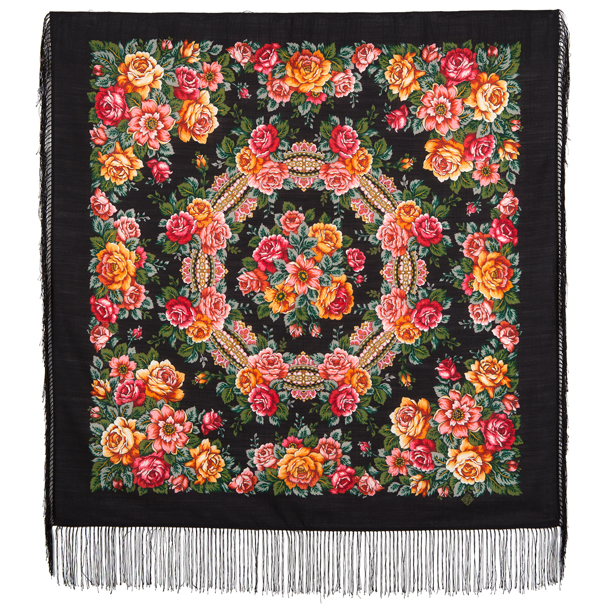 "Russian shawl ""City of Roses 1825-18"""