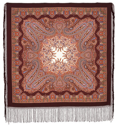 "Russian shawl ""Eastern tale 1175-7"""