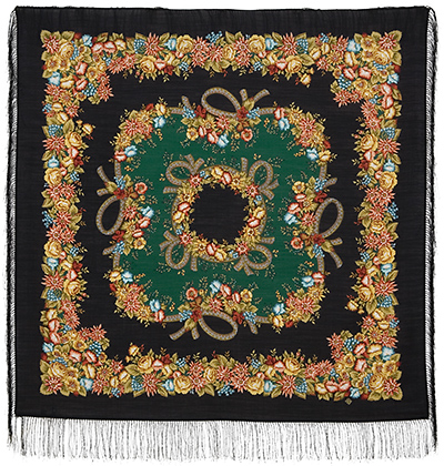 "Russian shawl ""Rowan beads 1193-18"""
