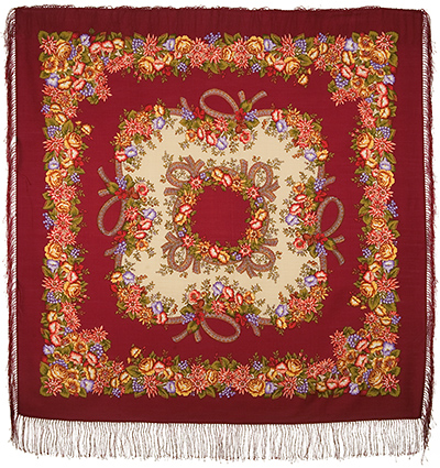 "Russian shawl ""Rowan beads 1193-5"""