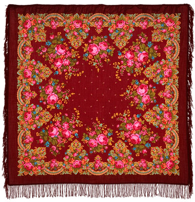 "Russian shawl ""Summer twilight 1219-7"""