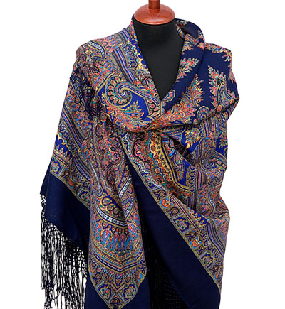 "Russian shawl ""Magic design 1290-14"""