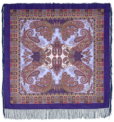 "Russian shawl ""Favorite 1344-13"""