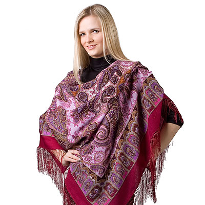"Russian shawl ""Favorite 1344-6"""