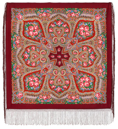 "Russian shawl ""Melody of Love 1374-5"""