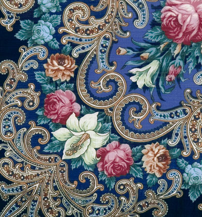 """Russian shawl """"The mystery of the heart 1437-14"""""""