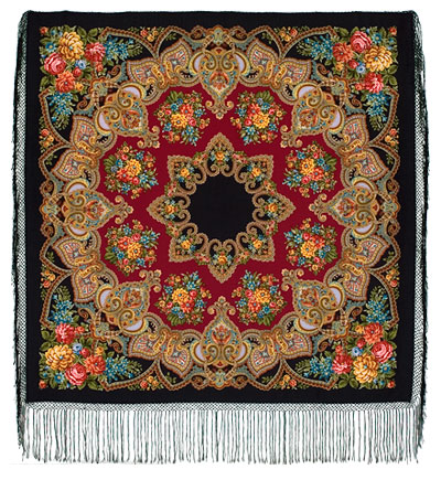 "Russian shawl ""Maya 372-28"""