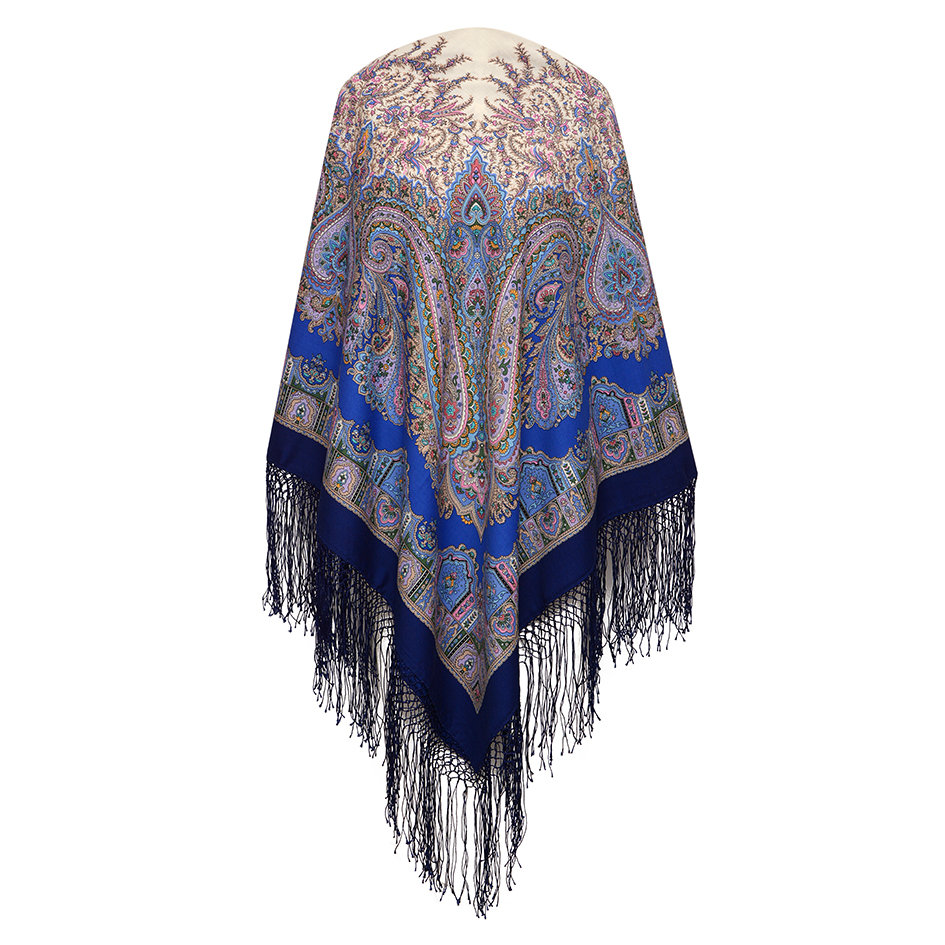 "Russian shawl ""Eastern tale 1175-13"""