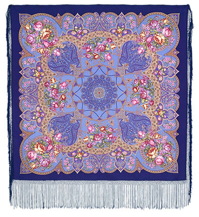 "Russian shawl ""Princely 680-13"""
