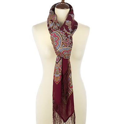 "Russian shawl ""Magic dance 1581-7"""