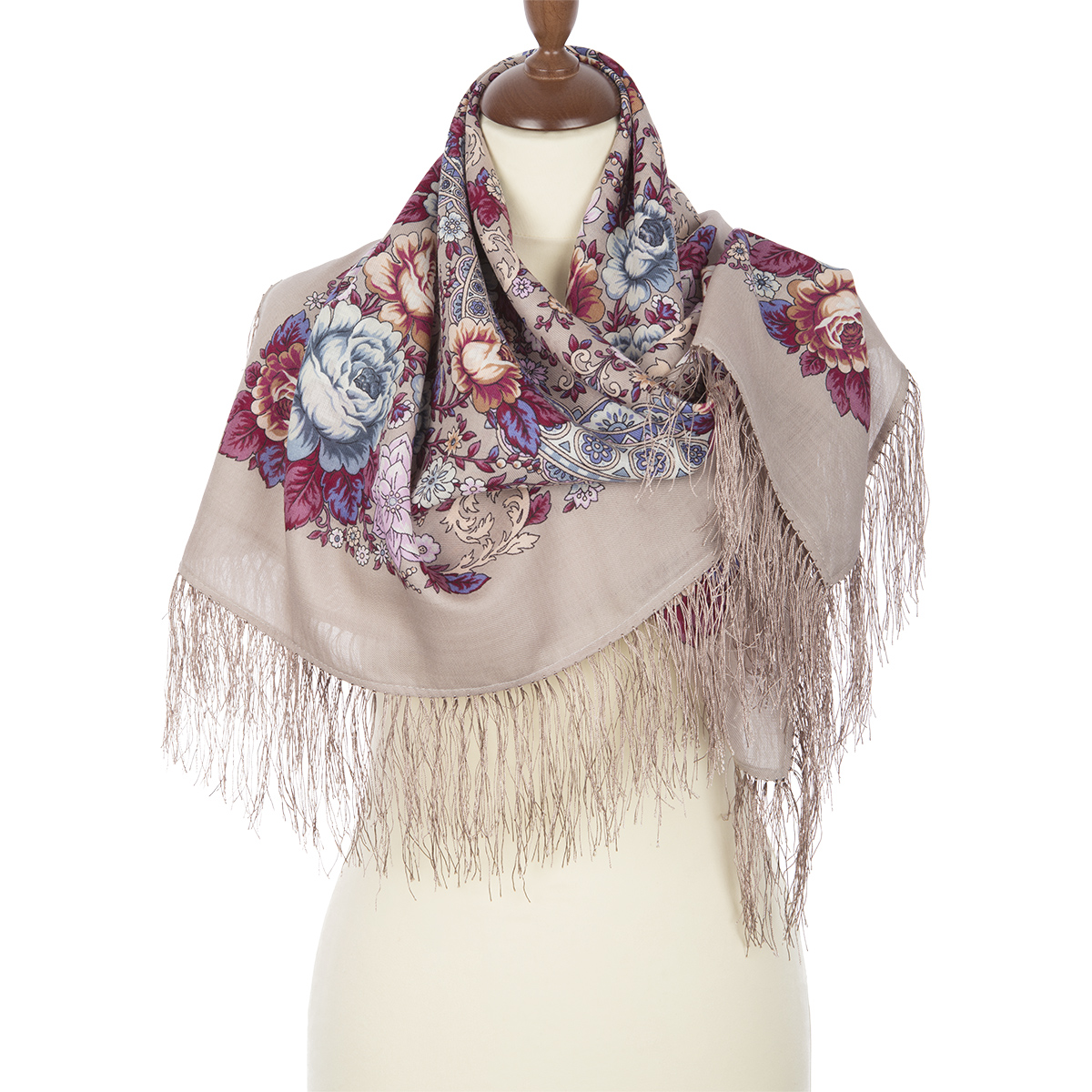 "Russian shawl ""Air mood 1661-2"""