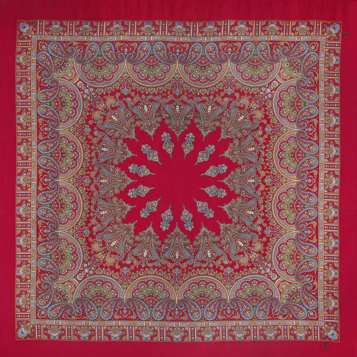 "Russian shawl ""Magic dance 1581-5"""