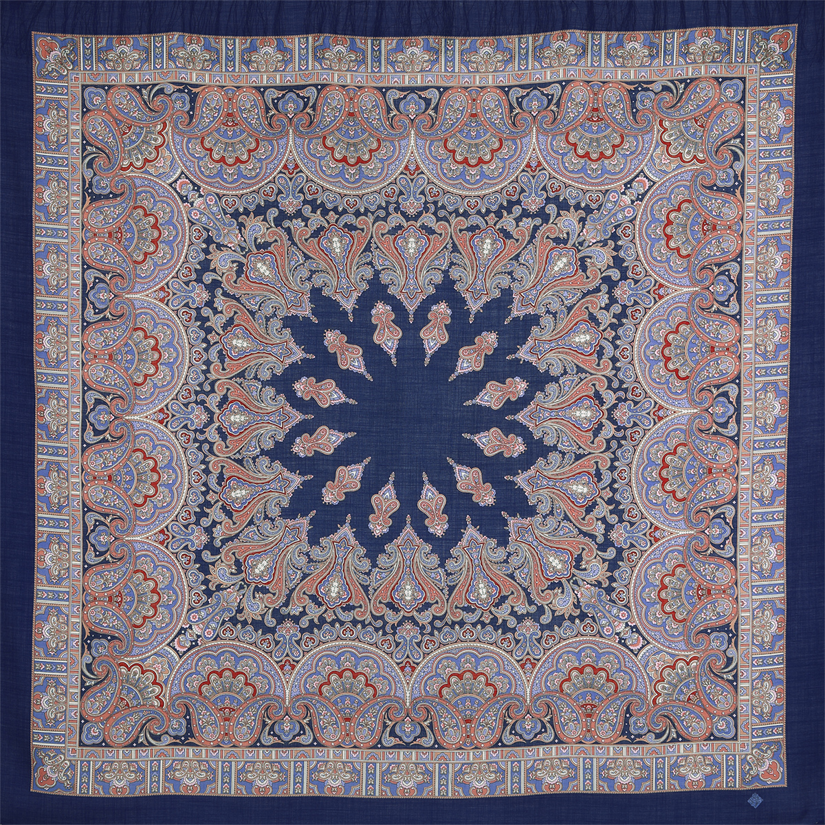 "Russian shawl ""Magic dance 1581-14"""
