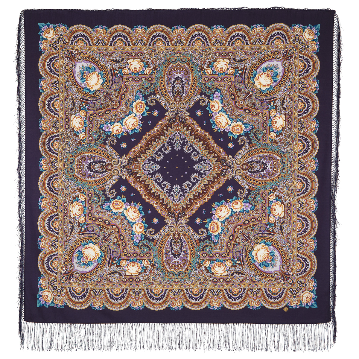 "Russian shawl ""Russian expanse 1619-15"""