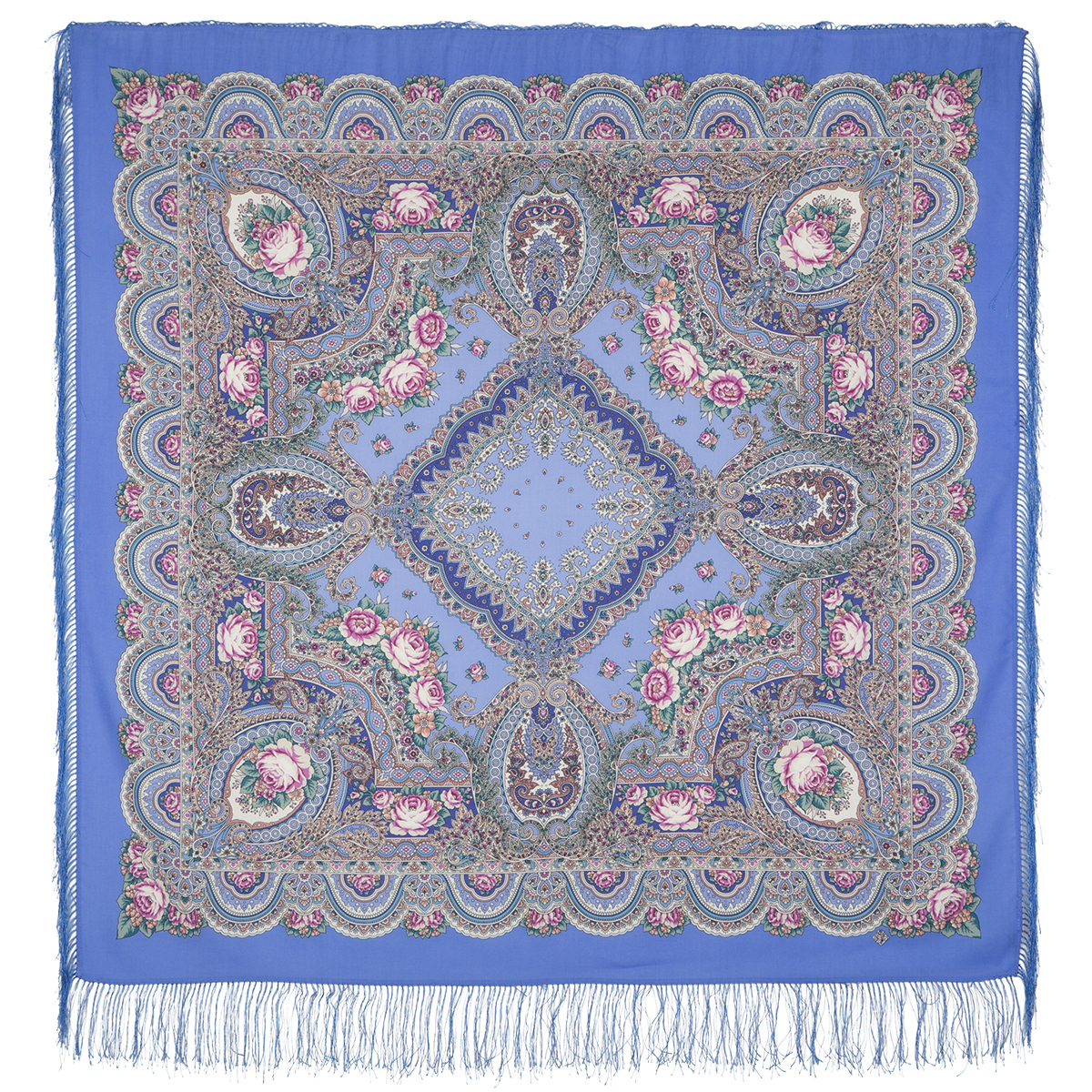 "Russian shawl ""Russian expanse 1619-13"""