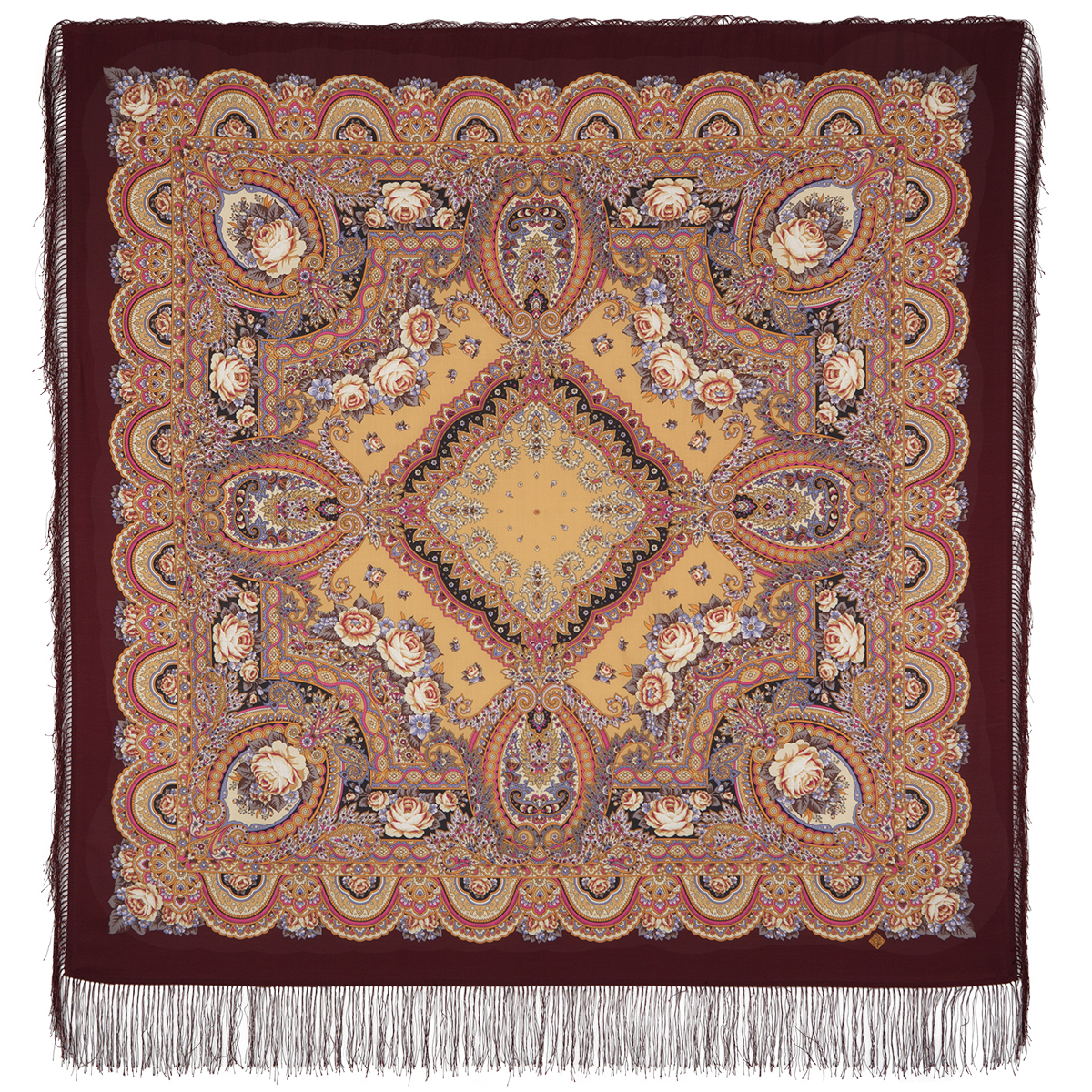 "Russian shawl ""Russian expanse 1619-7"""