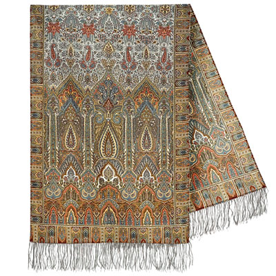 "Russian scarf ""Royal 1159-51"""