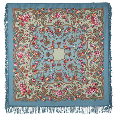 "Russian shawl ""Revelation 1551-12"""