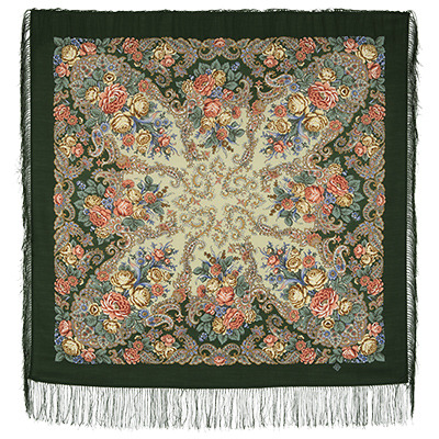"Russian shawl ""Wonderland 1624-9"""